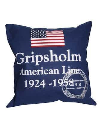 Kuddfodral Gripsholm Americanline 50X50cm Marinblå 967721
