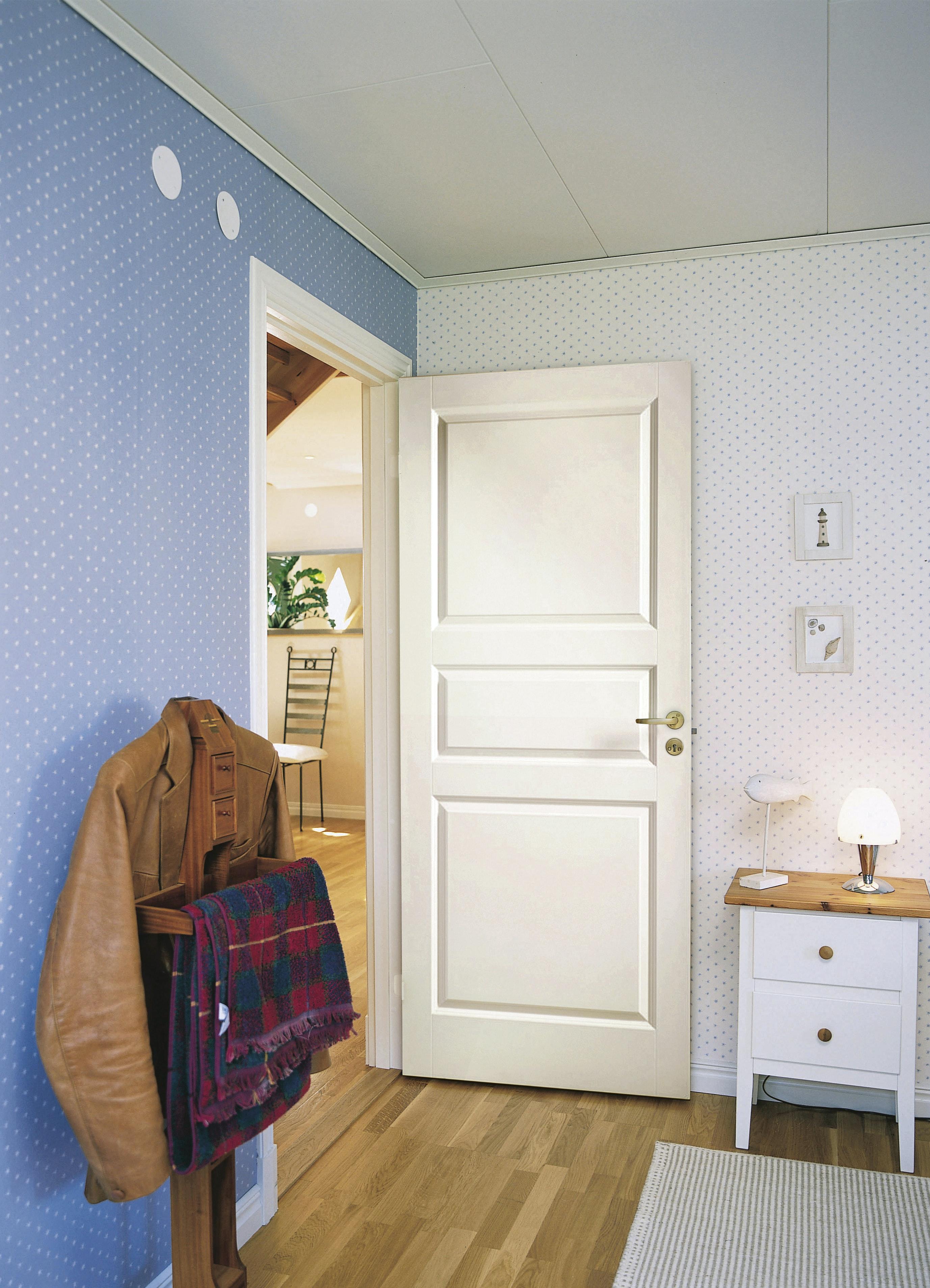 Innerdörr Cello Spegel Vit 9x21