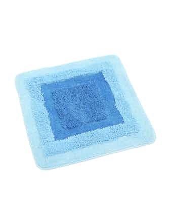 Коврик Belorr (синий.) 50х50, микрофибра