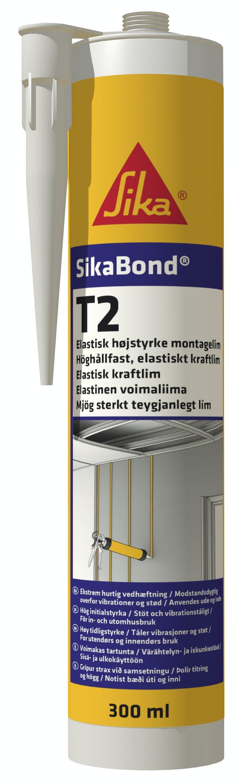 Monteringslim Sika Bond®-T2  Vit 300ml