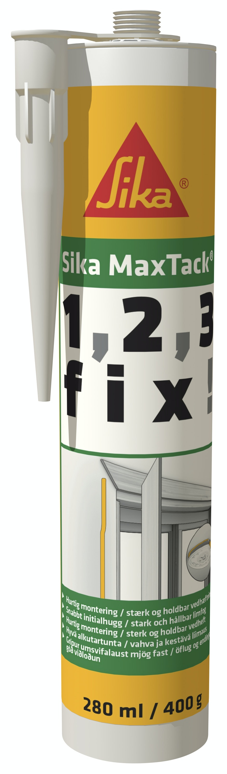 Lim Sika MaxTack® Off-White 300ml