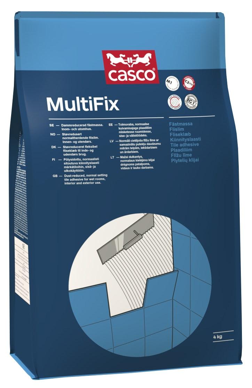 Fästmassa Casco MultiFix   Grå 4kg