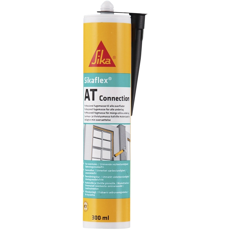 Universalfogmassa Sika SikaFlex®-At Connection Svart 300ml