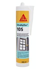 Герметик силиконовый нейтральный Sika Hyflex-105, 300 мл, серый