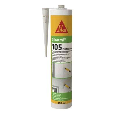 Fogmassa Sika Sikacryl®-105 Professional Akryl Vit 300ml