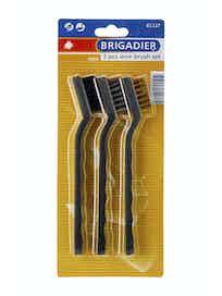 Набор мини-щеток Brigadier 61137, 3 шт.