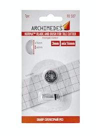 Элемент режущий Archimedes, 16 x 3 x 6 мм