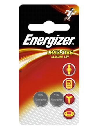 Batteri Alkaline Lr43/186 Pip2