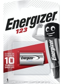 PARISTO ENERGIZER CR123 PHOTO LITHIUM 3V