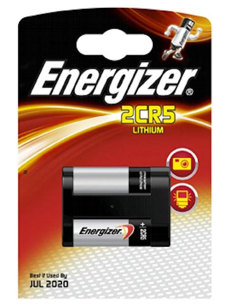 FOTOPARISTO ENERGIZER LITIUM 2CR5 2CR5 6V 1 KPL