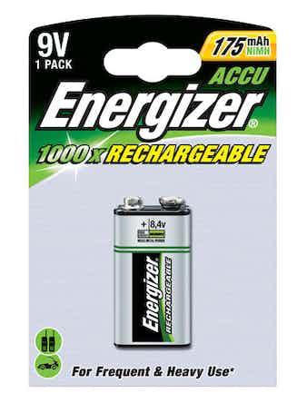 Batteri Energizer Powerplus 175MAH 9V
