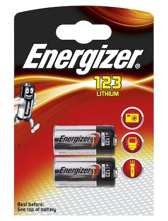 Batteri Energizer Photo 123 Fsb2
