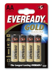 ALKALIPARISTO EVEREADY AA LR6 AA 4 KPL