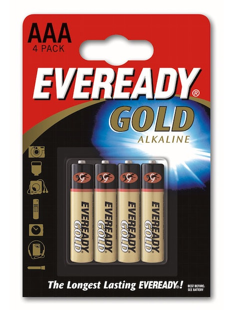 ALKALIPARISTO EVEREADY AAA LR03 AAA 4 KPL