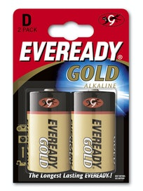 ALKALIPARISTO EVEREADY D LR20 D 2 KPL