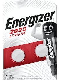 NAPPIPARISTO ENERGIZER CR2025 LITHIUM 3V 2KPL