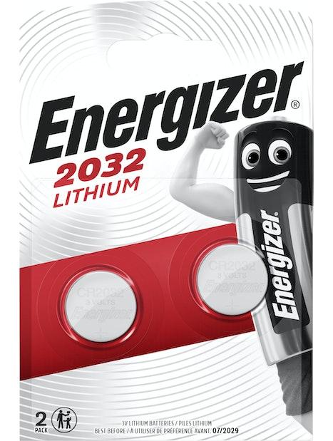 NAPPIPARISTO ENERGIZER LITIUM CR2032 2KPL