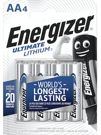 PARISTO ENERGIZER ULTIMATE LITHIUM AA 4KPL