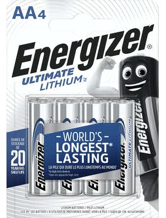 Batteri Energizer Ultimate Lithium AA L91 Fsb4