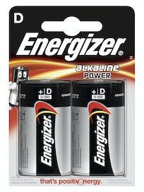Батарейки алкалиновые Energizer Power Alkaline E95/D BP, 2 шт.
