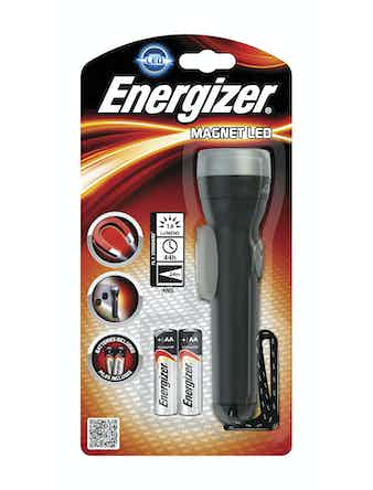 Ficklampa Energizer Magnet Led + 2st AA