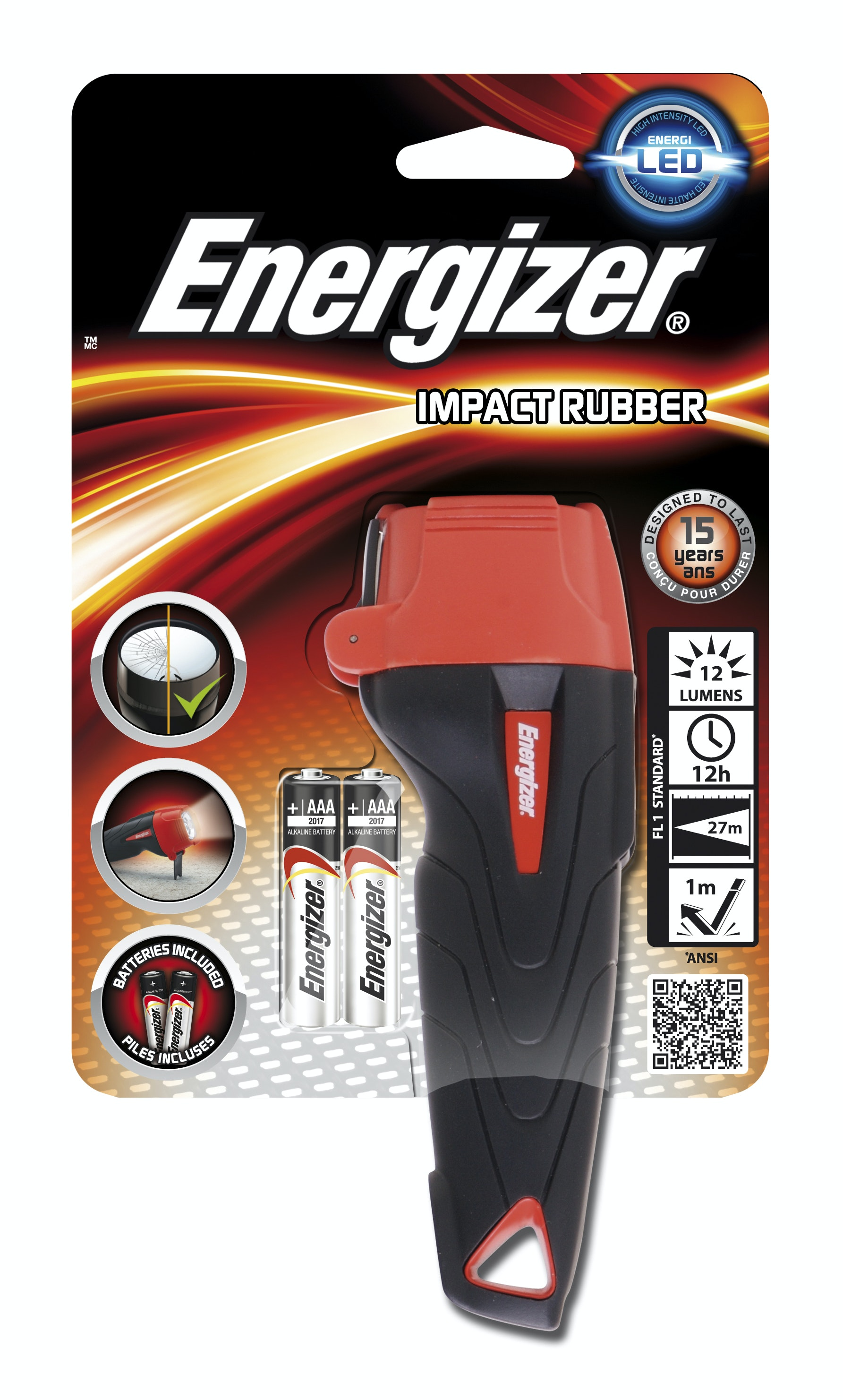Ficklampa Energizer Impact Led 2AAA