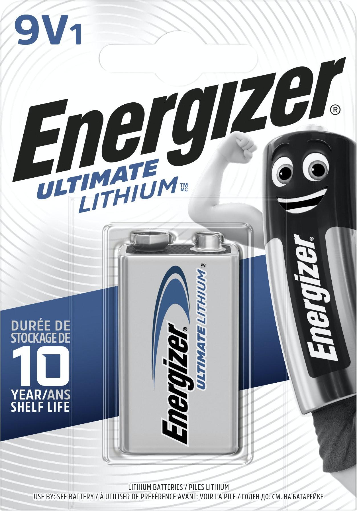 Batteri Ultimate Lithium 9V Fsb1