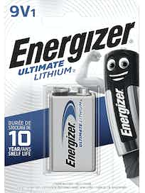 PARISTO ENERGIZER ULTIMATE LITIUM 6LR61 9V
