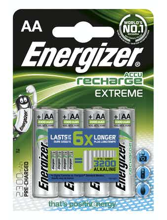 Batteri Energizer Extreme Rechargeable AA 2300 Fsb4