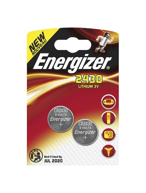 NAPPIPARISTO ENERGIZER CR2430 LITHIUM 2KPL