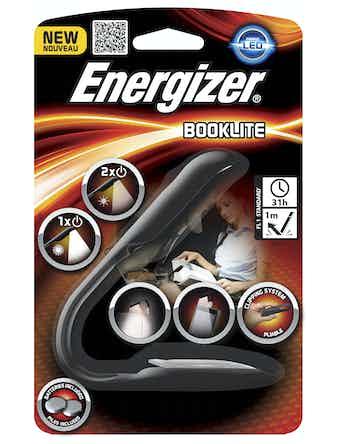 Boklampa Energizer