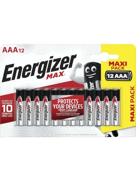 ALKALIPARISTO ENERGIZER MAX AAA 12KPL
