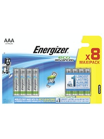 ALKALIPARISTO ENERGIZER ECO ADVANCED AAA 8 KPL