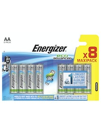ALKALIPARISTO ENERGIZER ECO ADVANCED AA 8 KPL