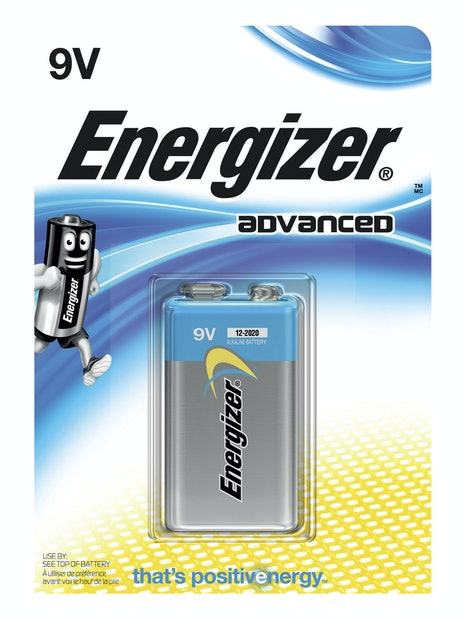 ALKALIPARISTO ENERGIZER ADVANCED 9V 1KPL