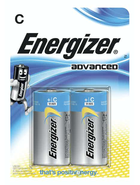 ALKALIPARISTO ENERGIZER ADVANCED C 2KPL