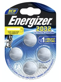 NAPPIPARISTO ENERGIZER CR2032 ULTIMATE LITHIUM PERFORMANCE 4KPL