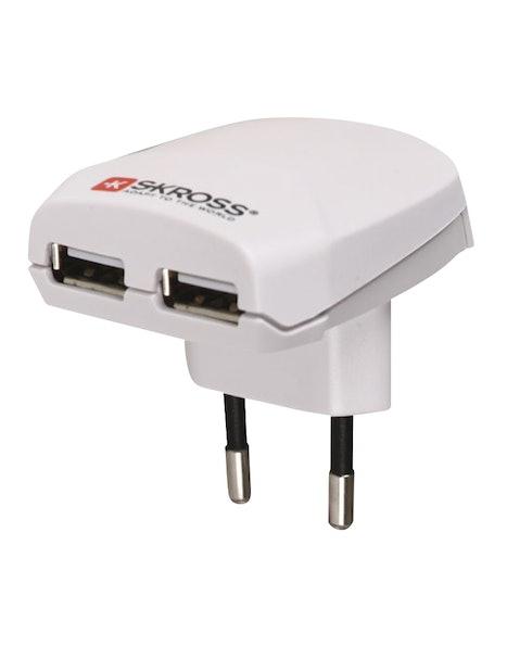 MATKASOVITIN USB LATURI,100-230V2,1A SKROSS