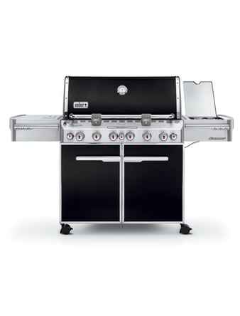 Gasolgrill Weber Summit E-670 Svart