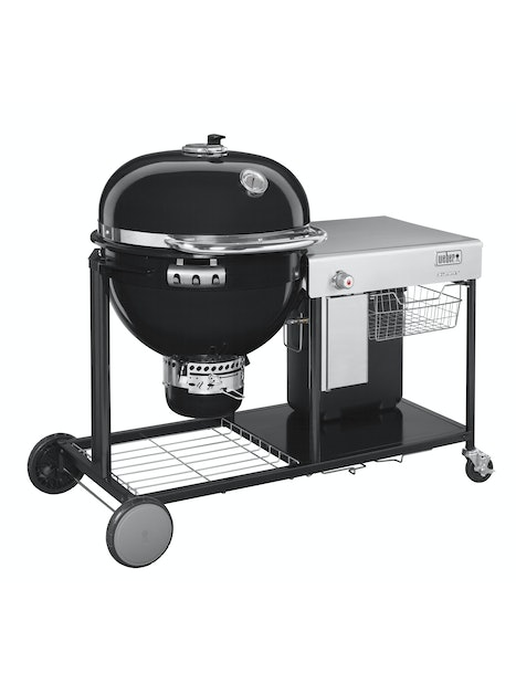 HIILIGRILLI WEBER SUMMIT CHARCOAL GRILL GBS CART