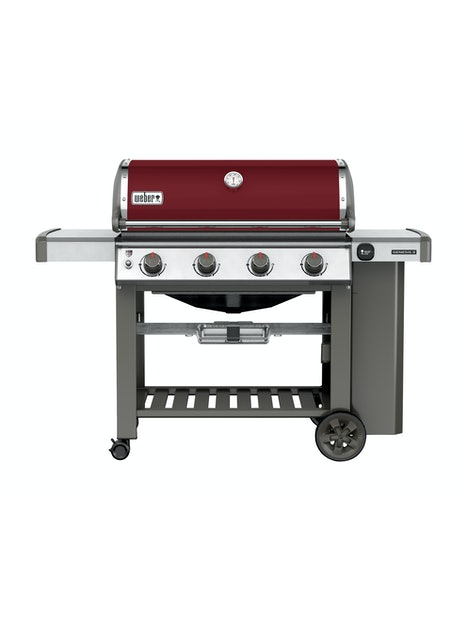 KAASUGRILLI WEBER GENESIS II E-410 CRIMSON RED LIMITED EDITION