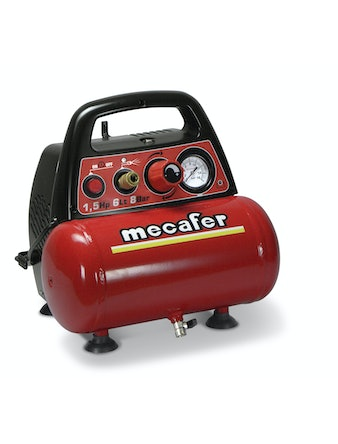 Kompressor Mecafer Vento-6 6L 1,1kw med kit