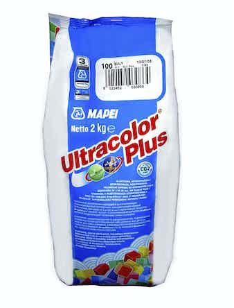 Затирка Mapei Ultra 111 светло-серый 2 кг