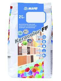 Затирка Keracolor FF №111, 2 кг, светло-серая