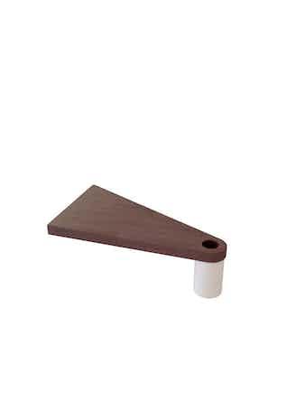 Extra Steg Fontanot Triangel Cube Line D.118 Vit/Mörk
