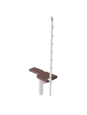 Extra Steg Mini Line Vit/Mörk