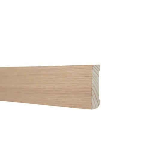 Sockel Höganäs Träprofiler 12X56 Ek vitlaserad faner 4,0m