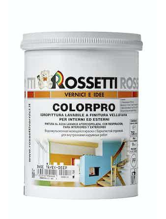 Краска COLORPRO Rossetti E/Deep TR, 0,75 л