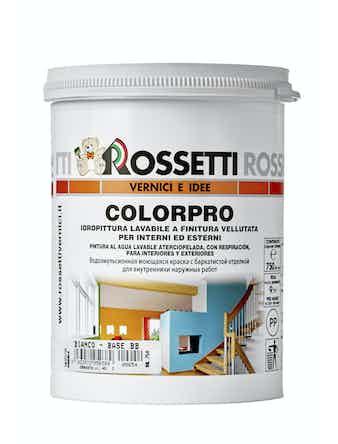 Краска COLORPRO Rossetti белая BB, 0,75 л