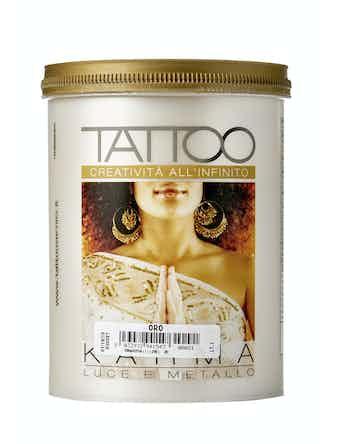 Отделка структурная метализированная TATTOO KARMA Oro, 1 л